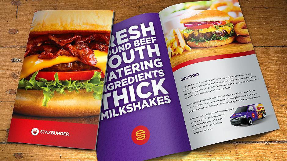 Staxburger Brochure