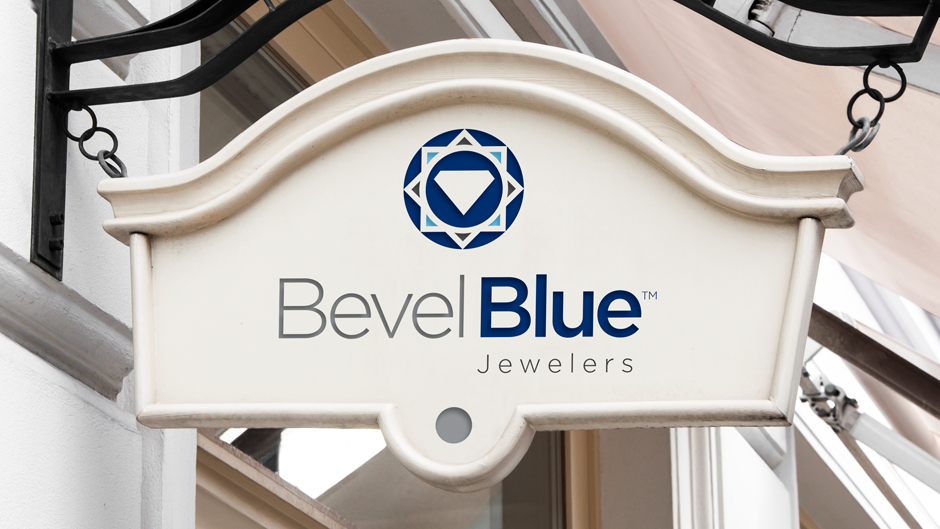 bevel-blue-jewelers-exterior-sign